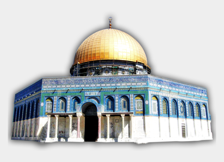 mosque clipart free, Cartoons - Mosque Clipart Aqsa - Dome Of The Rock