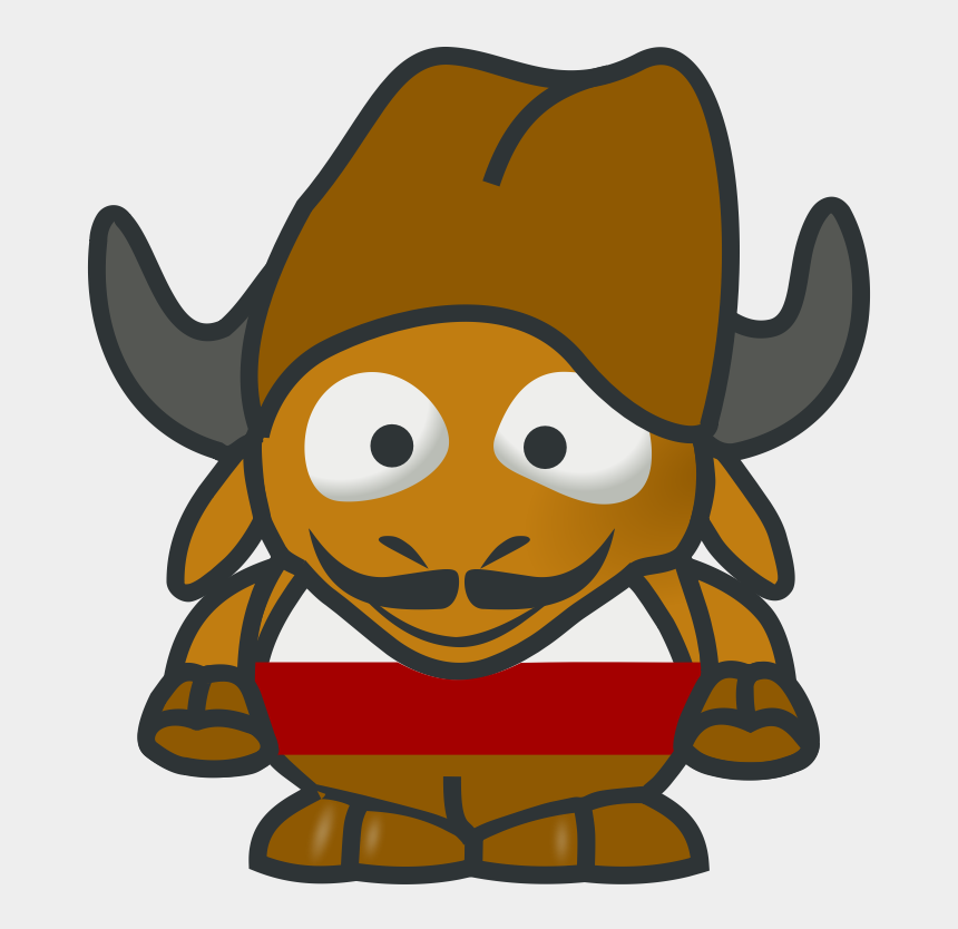yak clipart, Cartoons - Baby Gnu Bg - Knights Middle Ages Drawings
