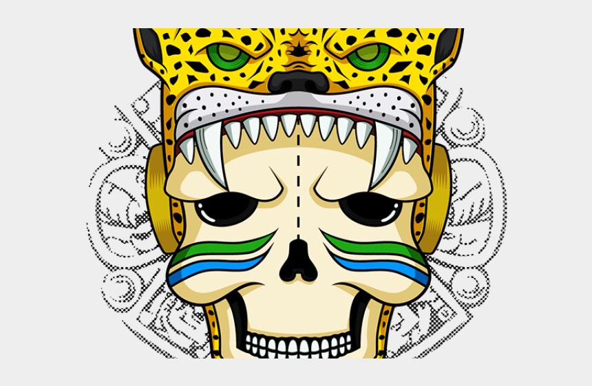 warrior clipart, Cartoons - Aztec Warrior Clipart Leopard - Imagenes Prehispanicas Aztecas De Calaveras De Guerreros