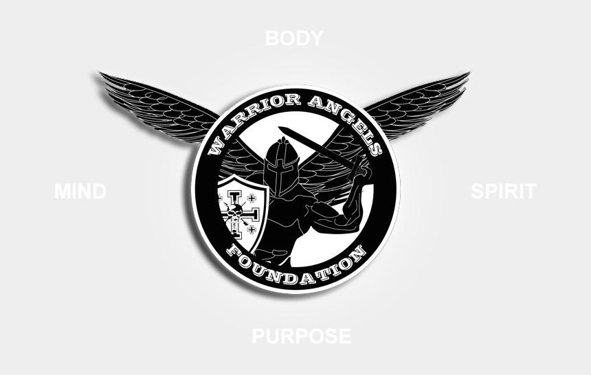 warrior clipart, Cartoons - Angel Warrior Clipart Sword Logo - Warrior Angels Foundation