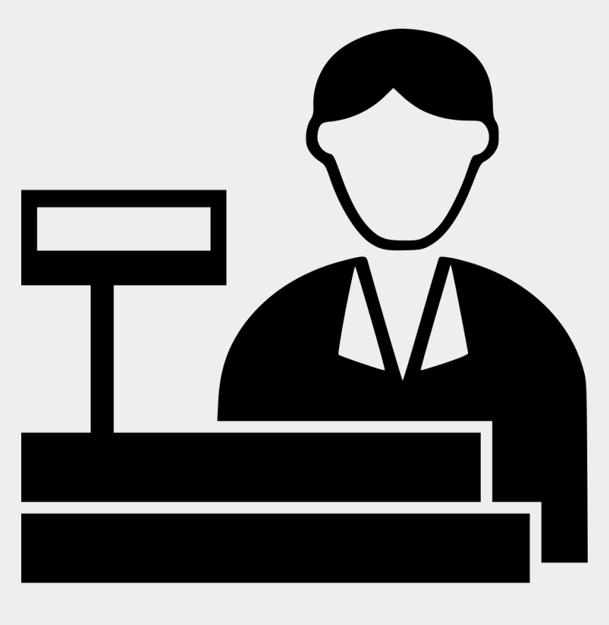 Cashier Vector Vectors High Resolution Stock Photography and Images - Alamy