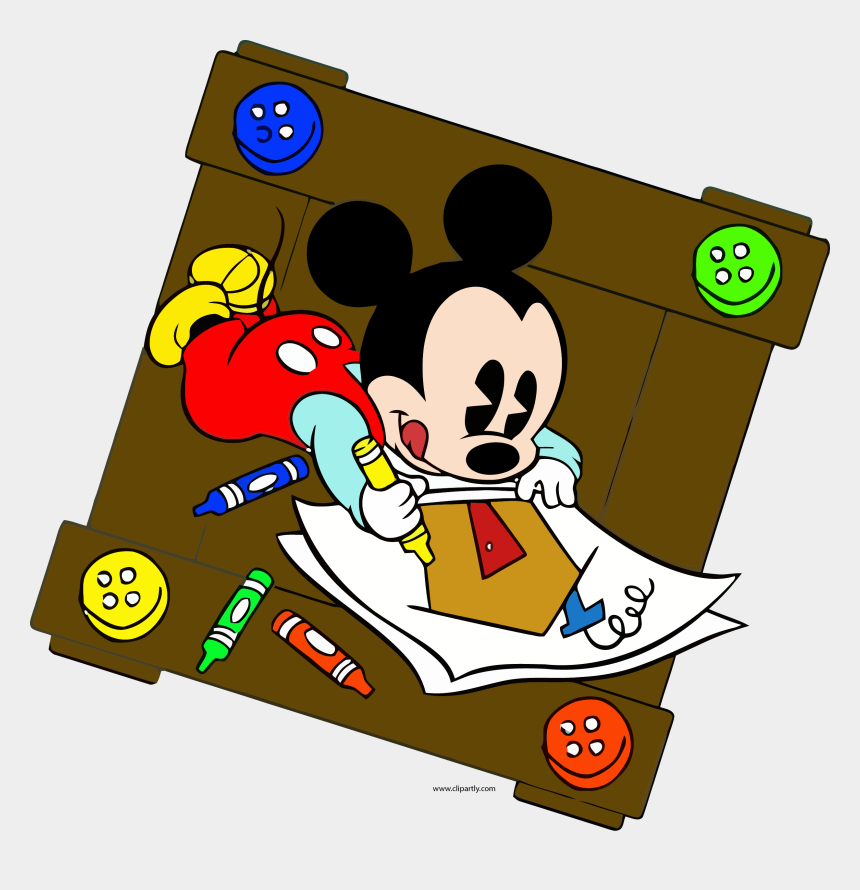 selfie clipart, Cartoons - Baby Mickey Clip Art - Baby Mickey Mouse Coloring Pages
