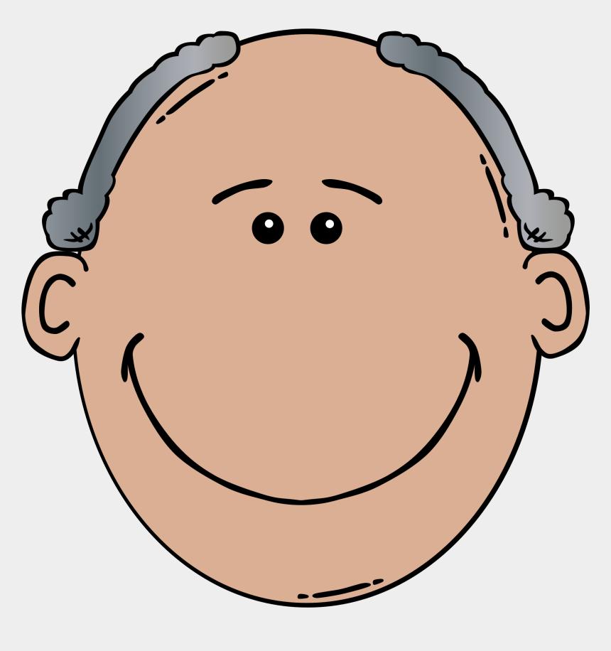 grandparents day clipart, Cartoons - Old Man Clip Art - Old Man Face Clip Art