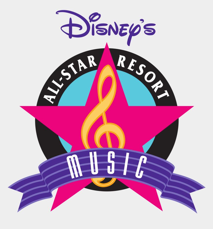 planning clipart, Cartoons - Disney's All-star Music Resort - Disney's All Star Music Resort Logo