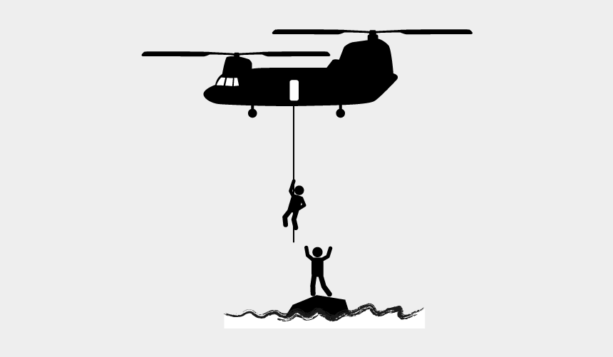 flood clipart, Cartoons - Disaster Clipart Flood Rescue - Boeing Ch-47 Chinook