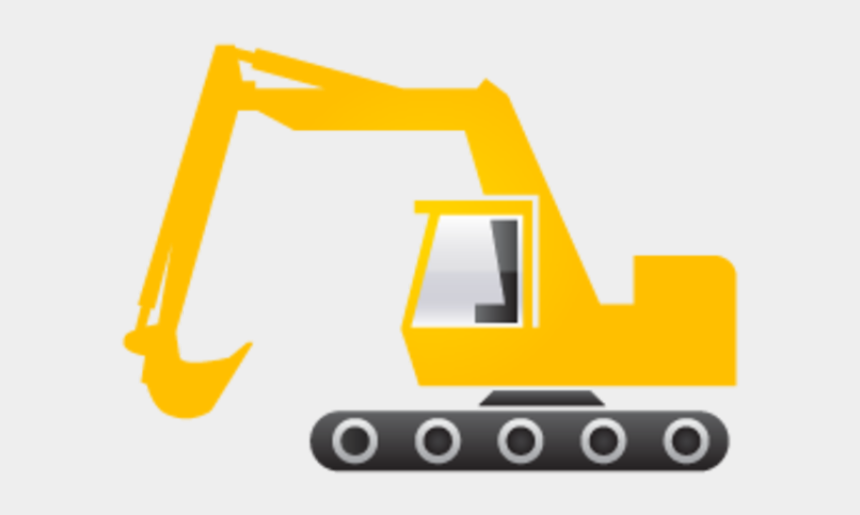 excavator clipart, Cartoons - Excavator Black And White Clipart - Excavator Clipart