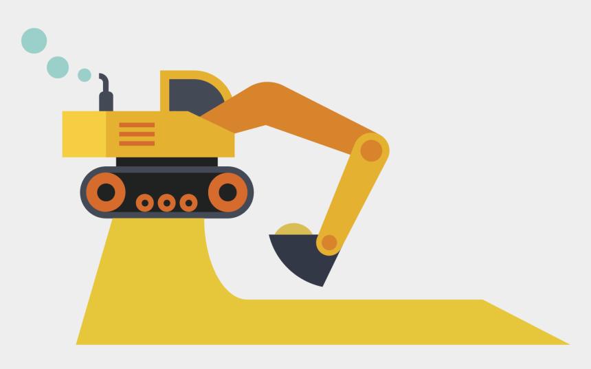 excavator clipart, Cartoons - Backhoe Clipart - Excavator Backhoe - Excavator Clipart - Excavator