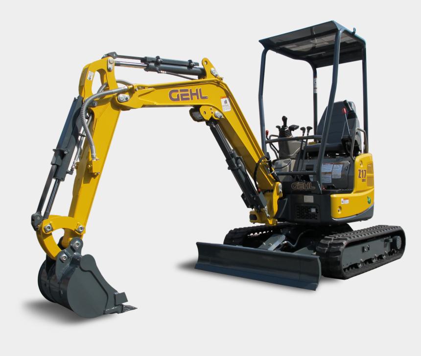 excavator clipart, Cartoons - Excavator Png - Compact Excavator