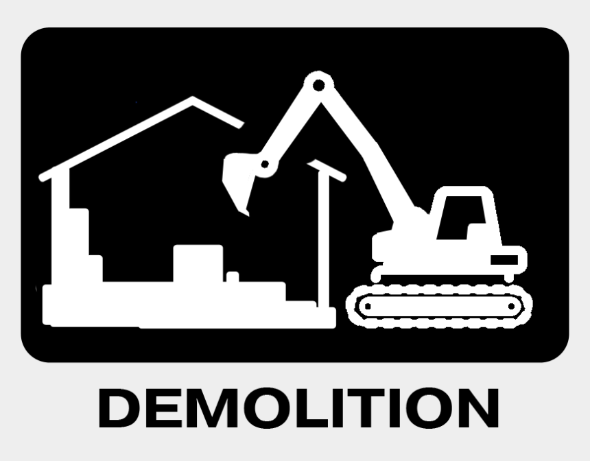excavator clipart, Cartoons - Bin It Ltd Welcome Demo Iconpng Ⓒ - Demolition Logo Clip Art