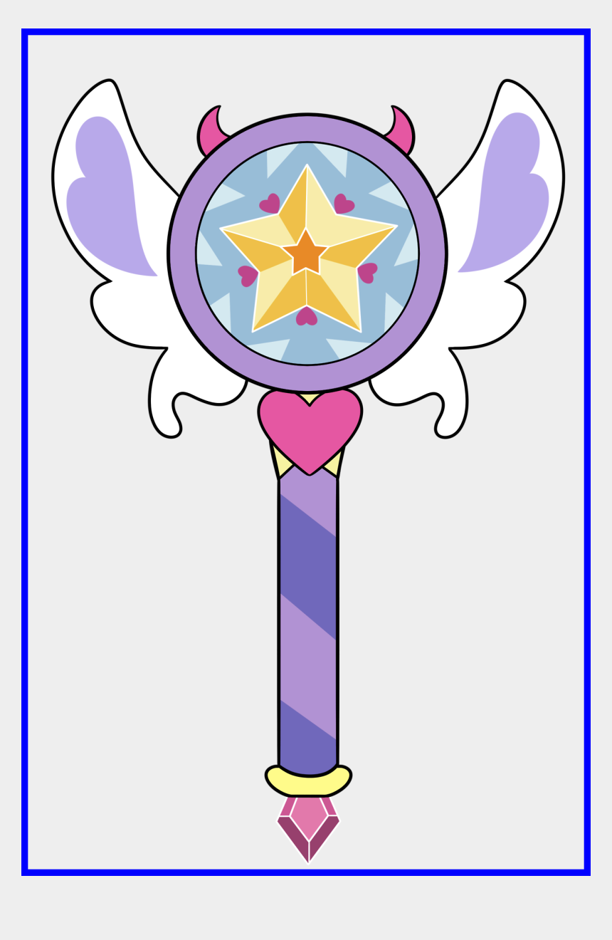 tumblr clipart, Cartoons - Best Trace Vector Tumblr Image For Clipart Of Butterfly - Star Vs The Forces Of Evil Star's New Wand