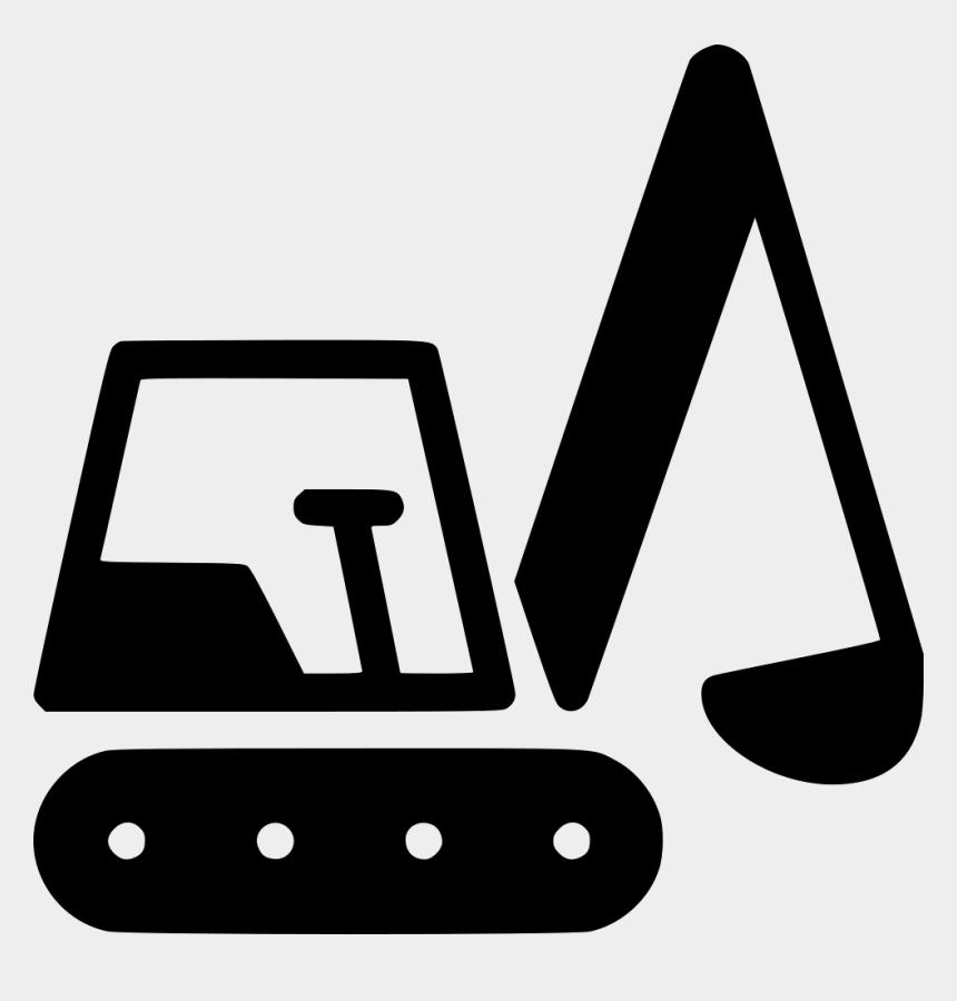 excavator clipart, Cartoons - Excavator Clipart Side - Excavator