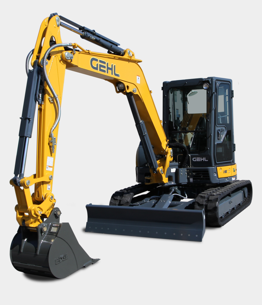 excavator clipart, Cartoons - King Machinery Asphalt Paving - Bulldozer