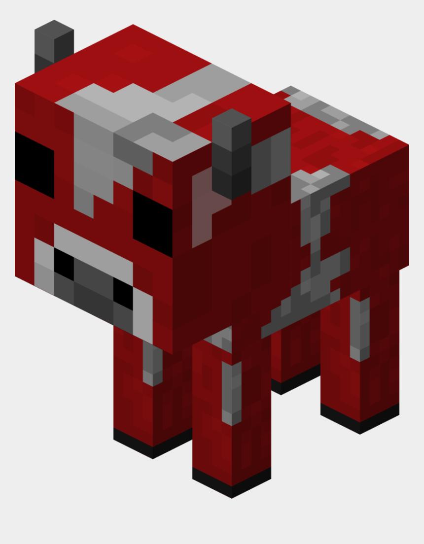 minecraft clip art, Cartoons - Minecraft Cow Clipart - Minecraft Mushroom Cow Baby