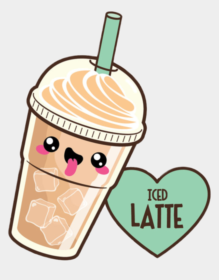 Icedlatte Kawaii Latte Cute Starbucks Kawaii