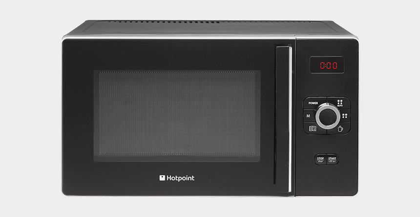 microwave clipart, Cartoons - Hd Line Microwave - Hotpoint Gusto Grill 25l Microwave