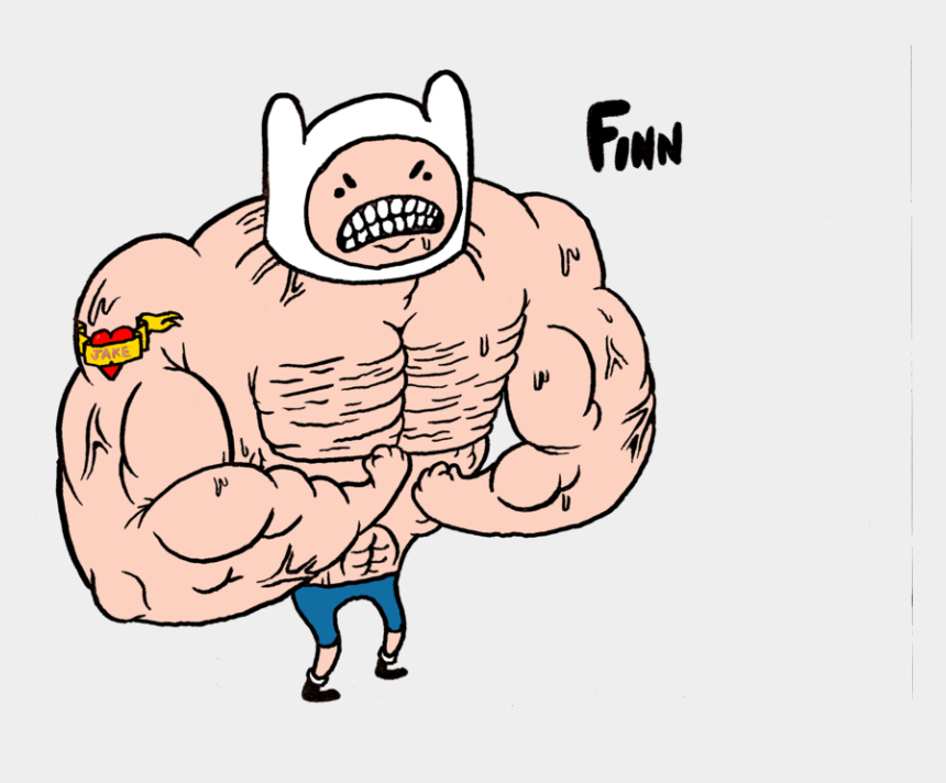 muscle clipart, Cartoons - Buff Person Cliparts - Muscular Man Clipart Transparent