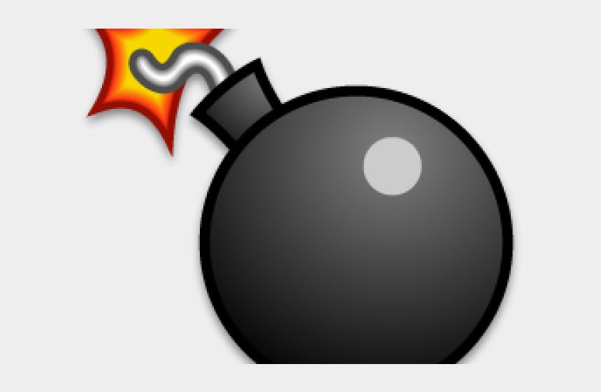 bomb clipart, Cartoons - Bomb Icon Transparent Background