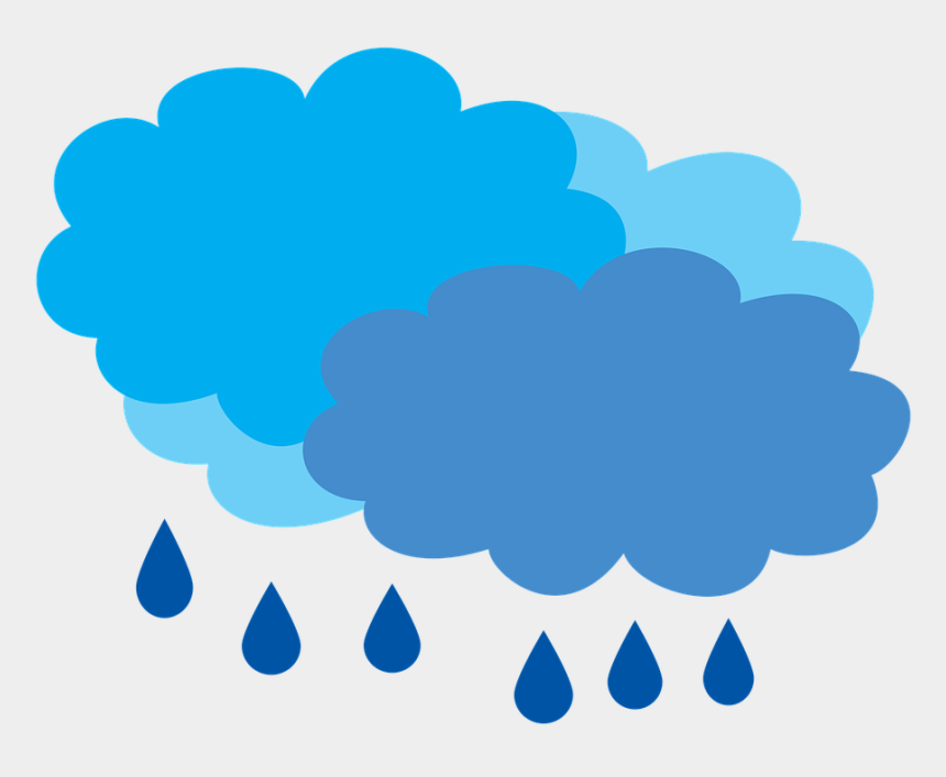 cloudy clipart, Cartoons - Cloudy With Rain Rain The Rain Clouds Free Picture - Cloud Snowing Clipart Gif