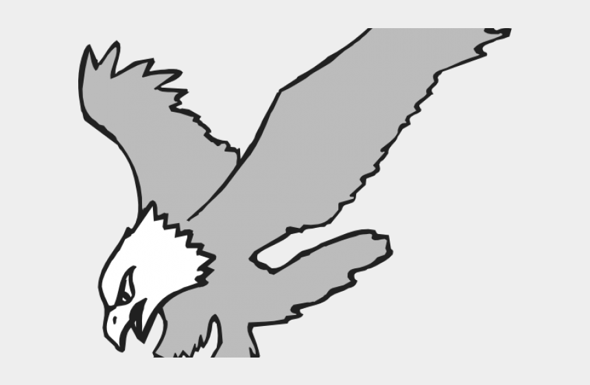 bird hunting clipart, Cartoons - Hunting Clipart Black And White - Eagle Clipart
