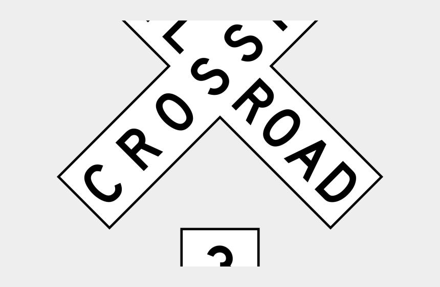tracks clipart, Cartoons - Railroad Tracks Clipart Railroad Sign - Railroad Crossing Sign