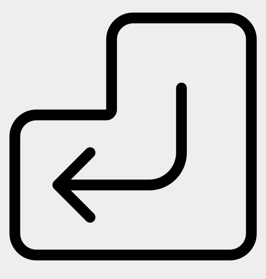 Collection Of Enter Key High Quality Outline Of Enter