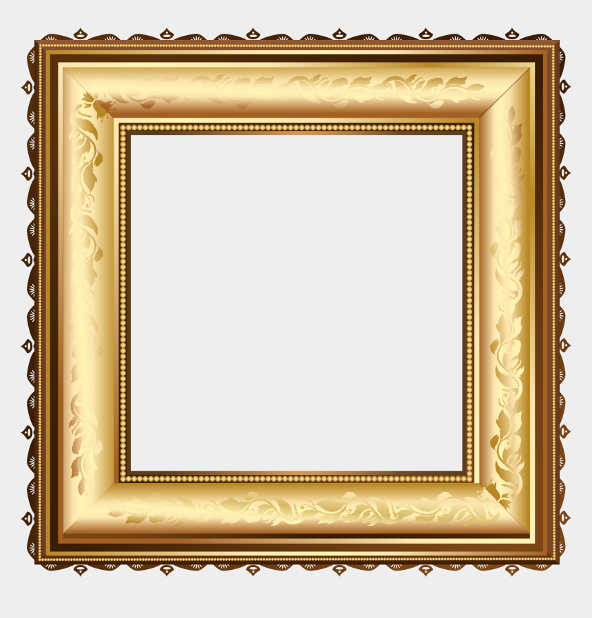 golden frame clipart, Cartoons - Pin By M J On Golden Frames - Museum Picture Frame
