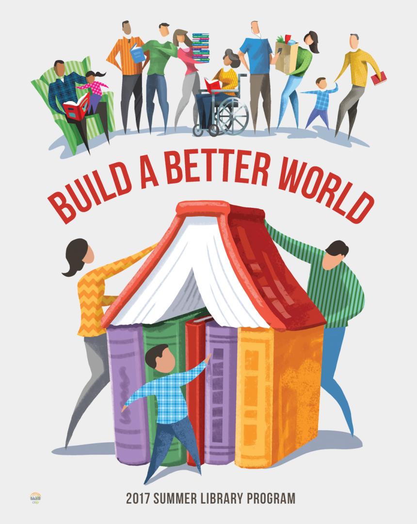 challenge clipart free, Cartoons - Literacy Clipart Reading Challenge - Build A Better World Summer Reading Program