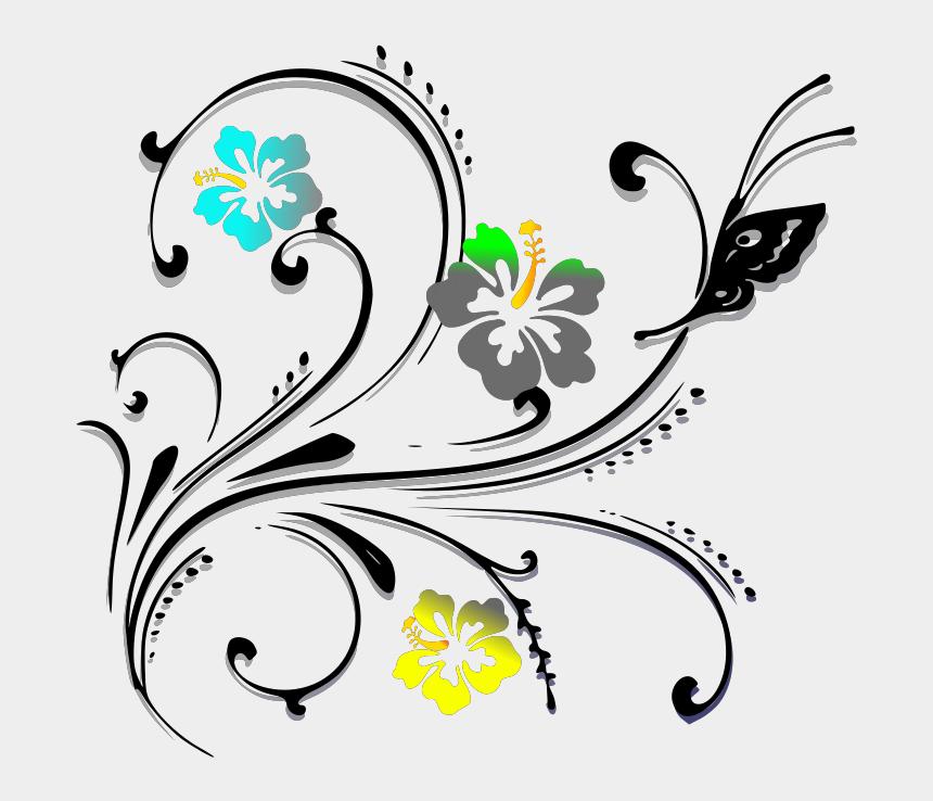pink scroll clipart, Cartoons - Butterfly Scroll Pink Svg Clip Arts 600 X 543 Px - Royal Blue Flowers Clip Art