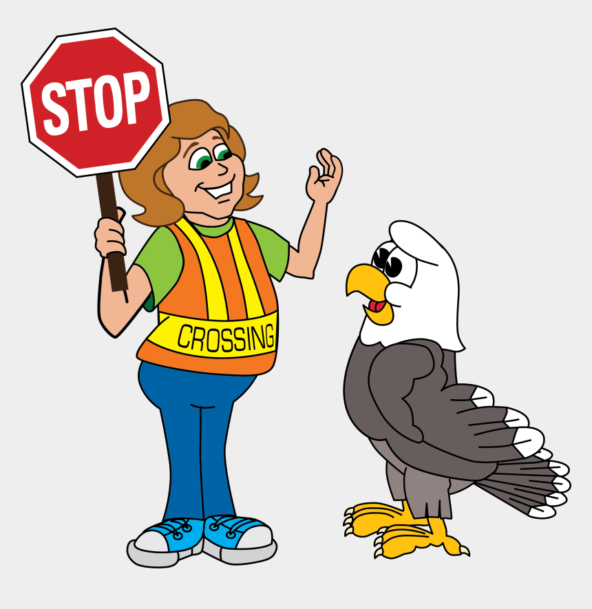 parent pick up clipart, Cartoons - For The Safety Of Our Students And To Help Traffic - Stop Sign Clip Art