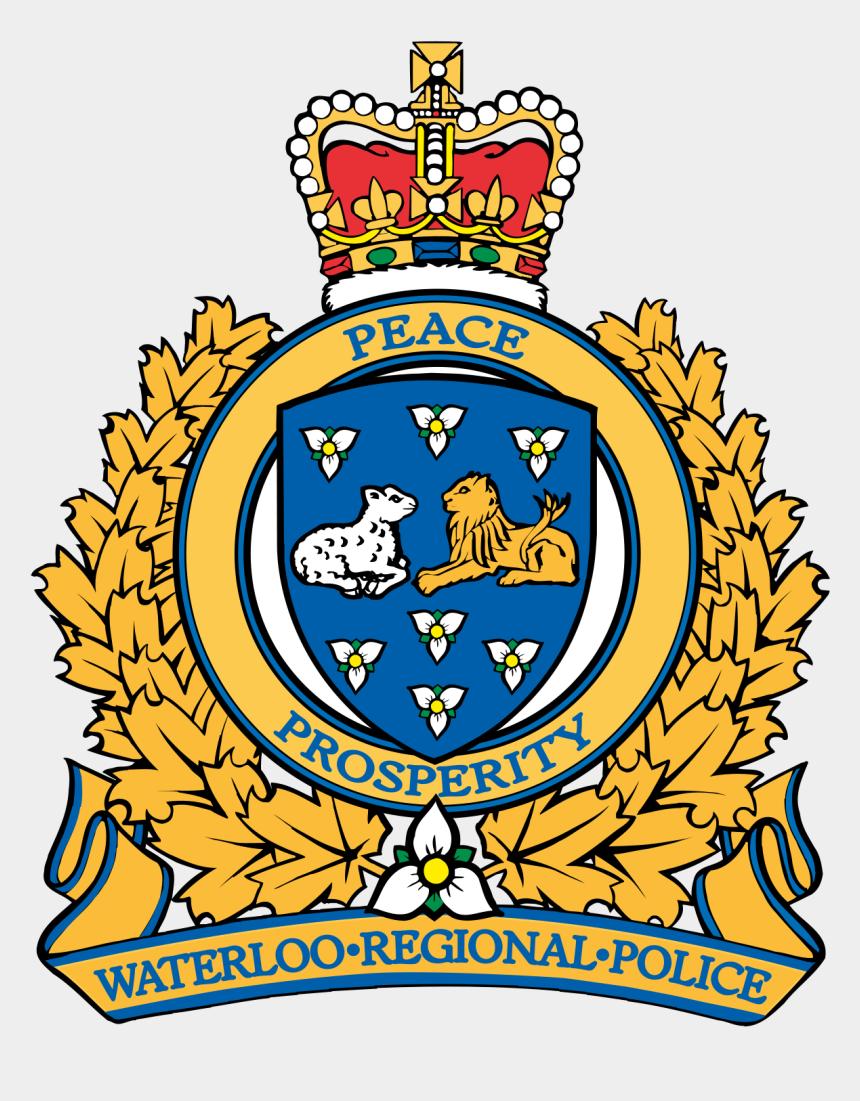 police station building clipart, Cartoons - Waterloo Regional Police Logo
