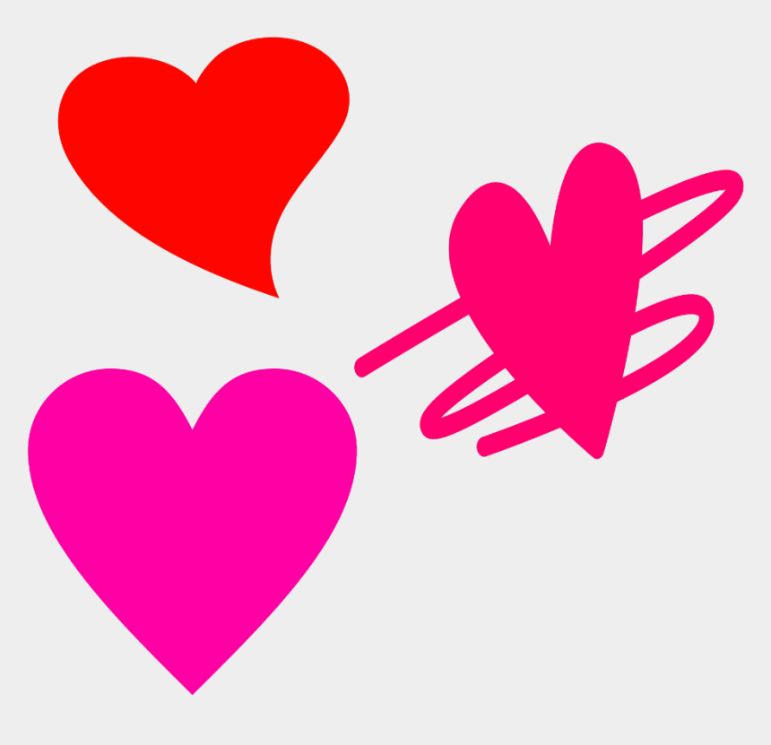 hot pink heart clipart, Cartoons - #heart #hearts #3 #three #love #red#pink #hotpink - Love Heart Touching Quotes In Telugu