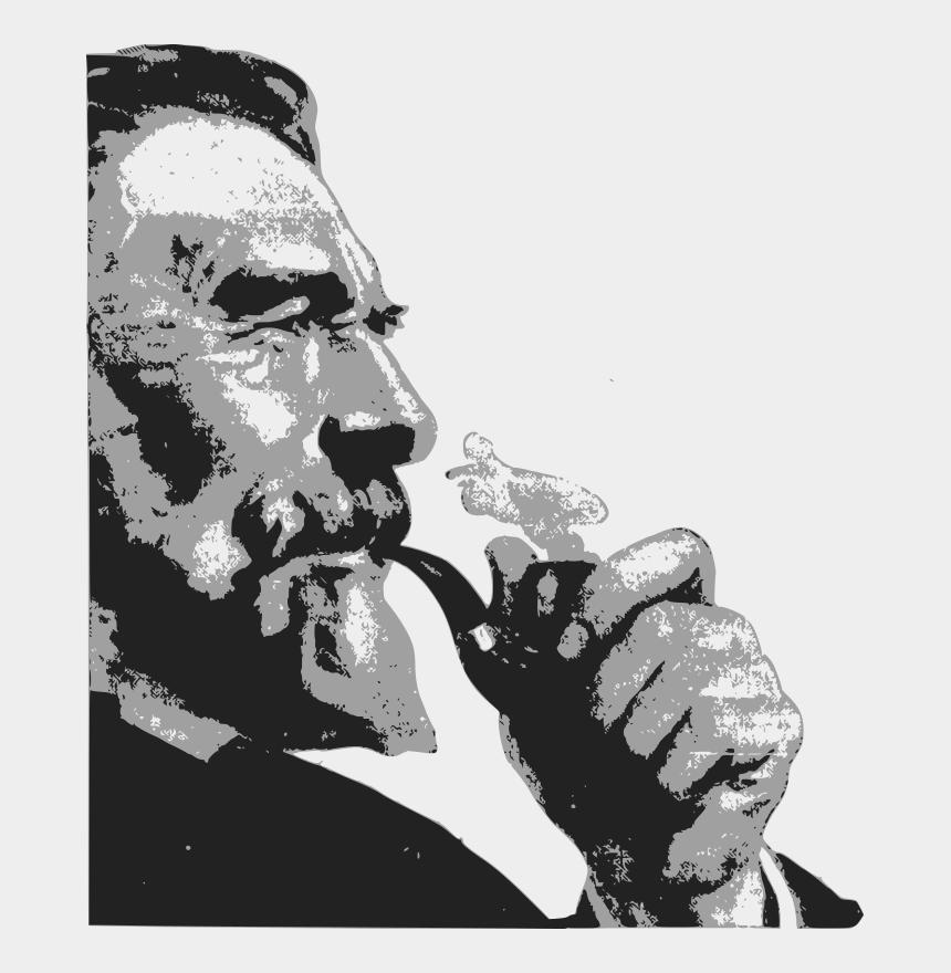 man smoking pipe clipart, Cartoons - Man Smoking Pipe Clipart