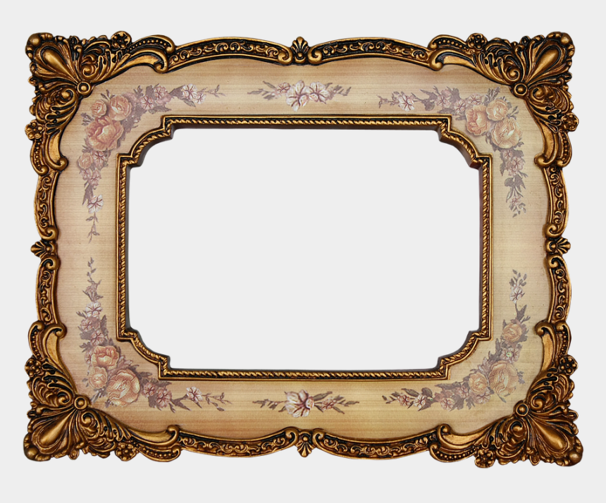 antique picture frame clipart, Cartoons - Antique Picture Frame Png - Transparent Vintage Picture Frame