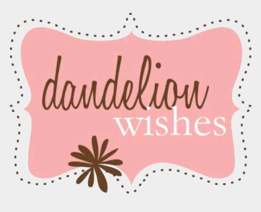 dandelion graphics clipart, Cartoons - Dandelion Wishes Logo - Illustration