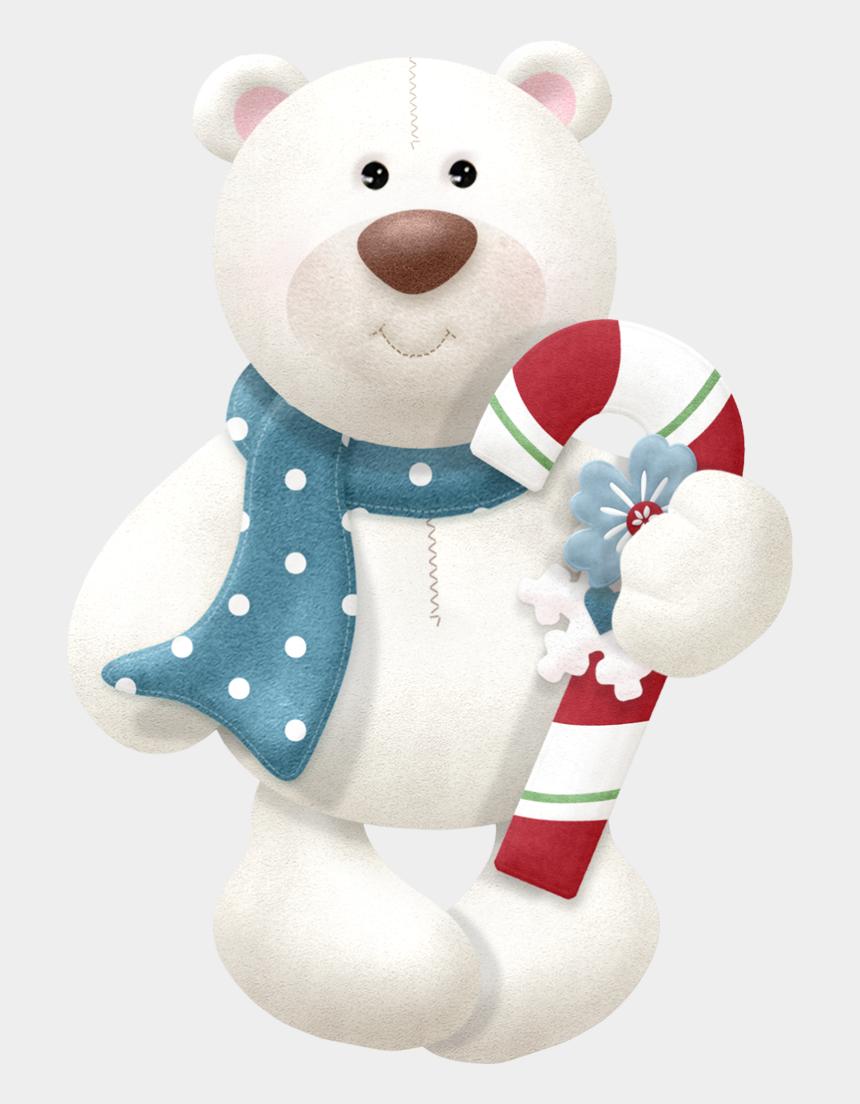 bear png clipart, Cartoons - Christmas Bear Png - Clipart Teddy Bear Christmas