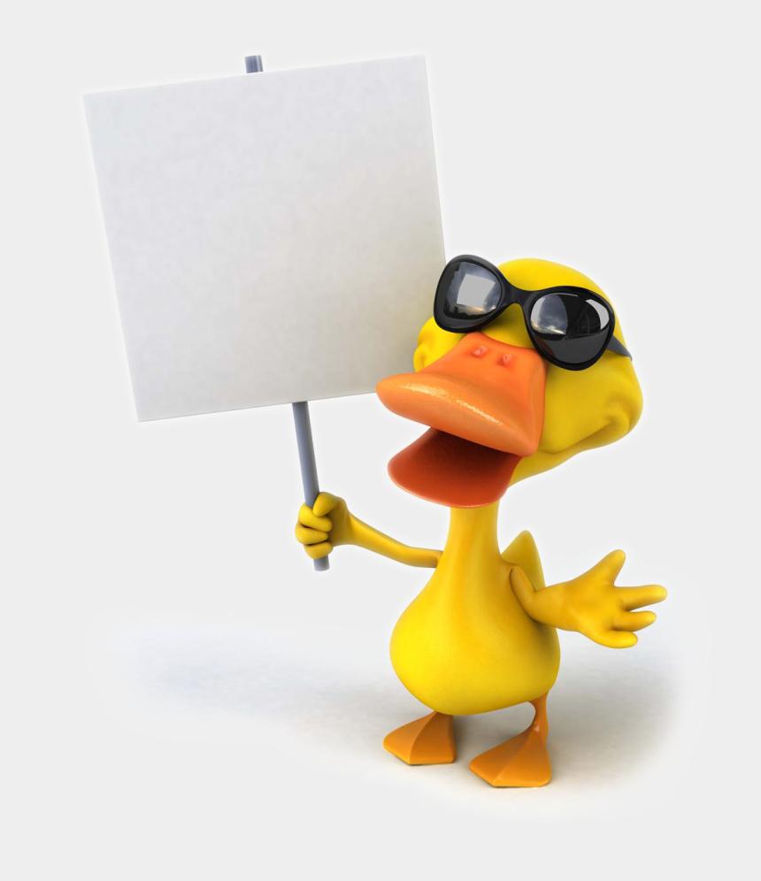 ducks in a row clipart, Cartoons - Cartoon Duck Png - 免 抠 图 卡通 鸭