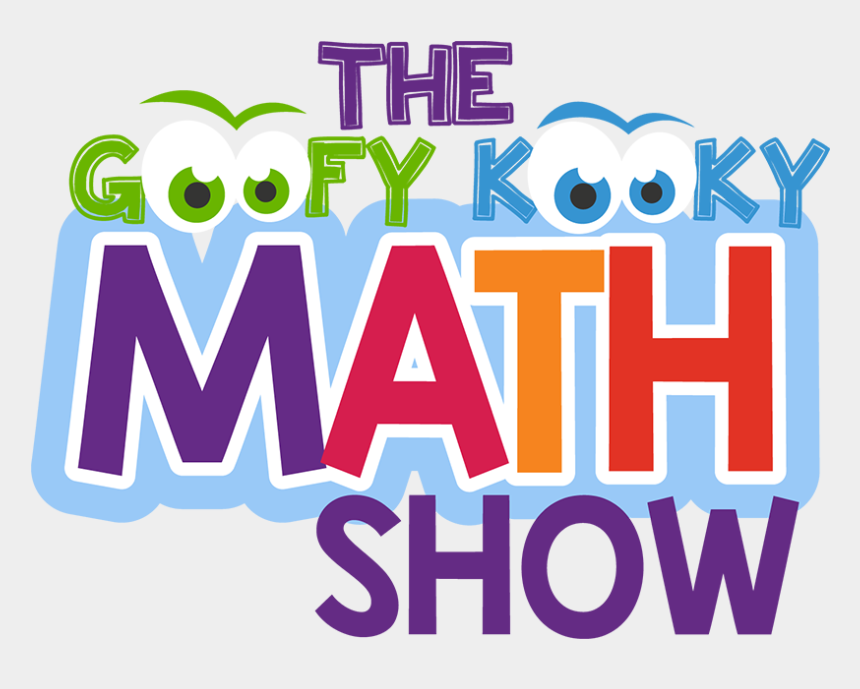 elementary school assembly clipart, Cartoons - Math Assembly, Cris Johnson, Goofy Kooky Math Show - Graphic Design