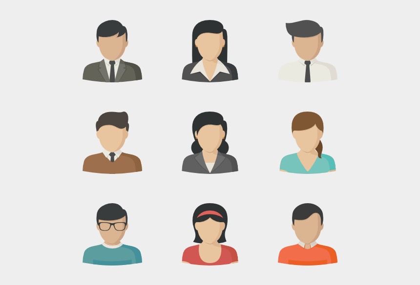 female profile clipart, Cartoons - Vector Women Side Profile - Icon Individual Person