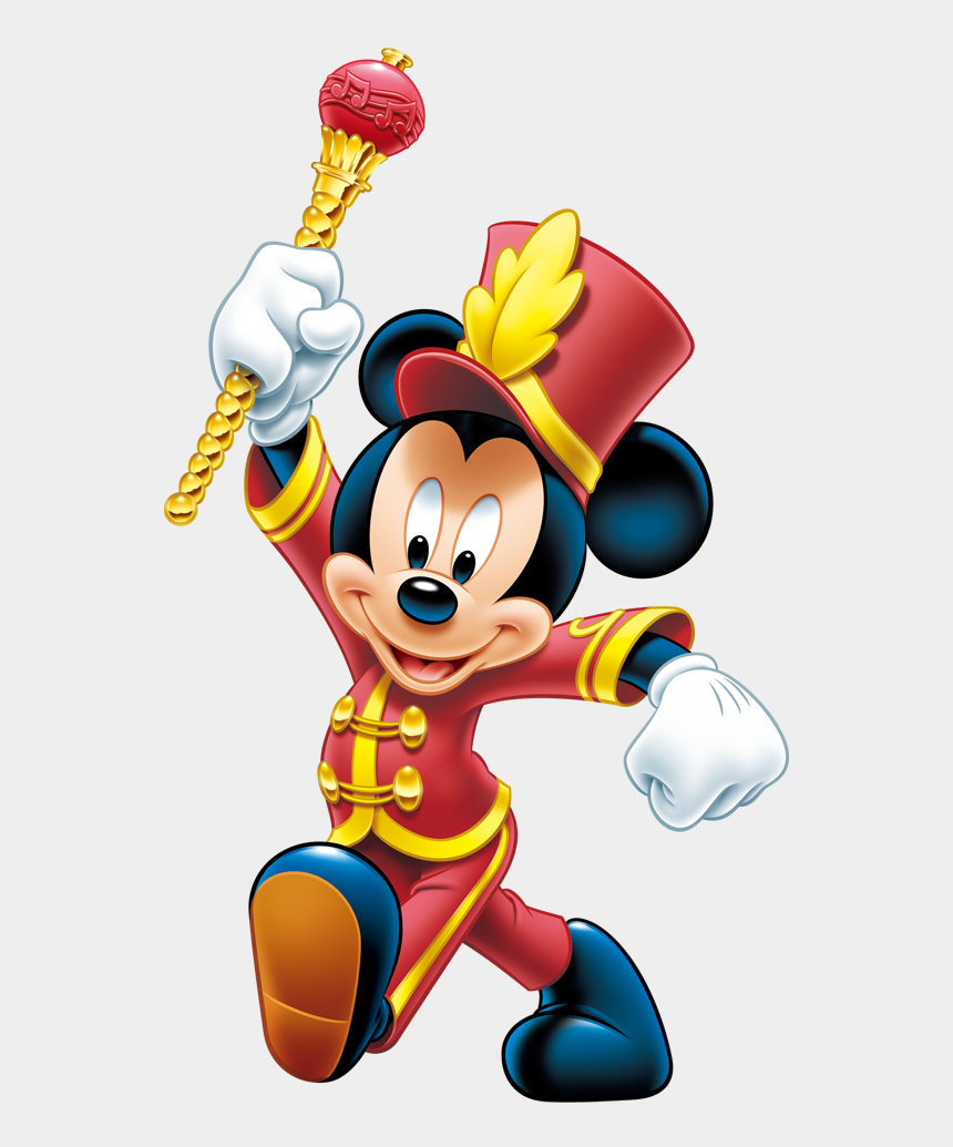 kids marching clipart, Cartoons - Kids Marching Clipart - Mickey Mouse Marching Band