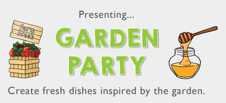 garden party clipart free, Cartoons - May's Kit Is Garden Party - Graphic Design