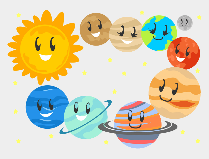 science olympiad clipart, Cartoons - National Science Olympiad Level-1 Pattern - Cute Outer Space Clipart