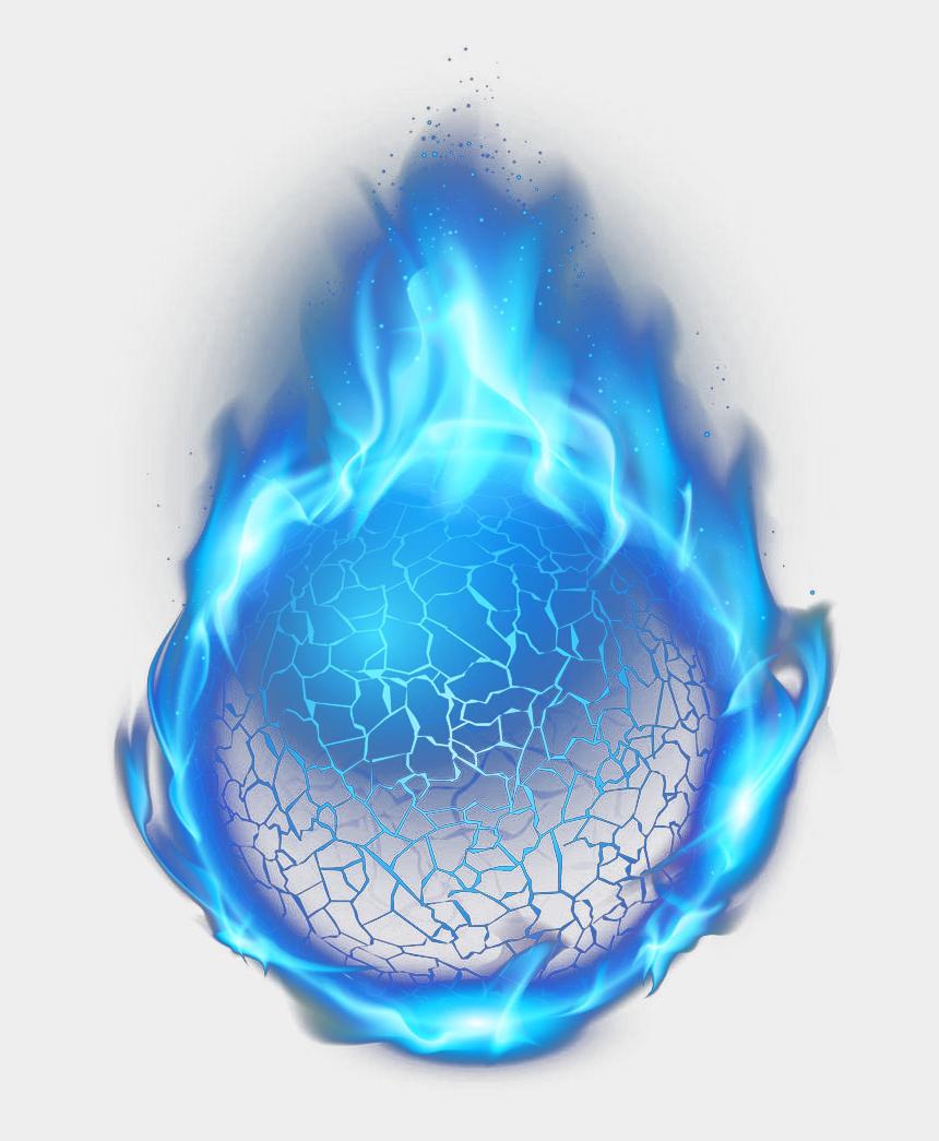 blue flames clipart, Cartoons - Fire Light Blue Flame Balls Hd Image Free Png - Transparent Background Blue Fireball