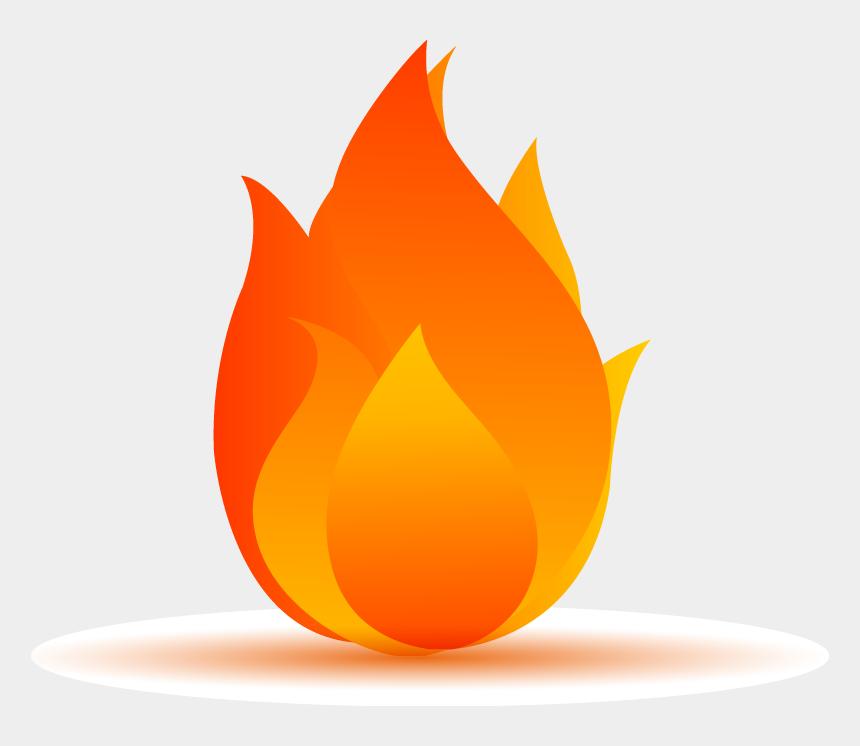 blue flames clipart, Cartoons - Flame Fire - Cartoon Transparent Background Fire