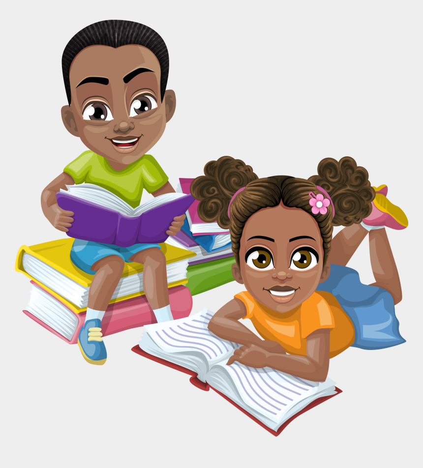 children reading the bible clipart, Cartoons - Cartoon