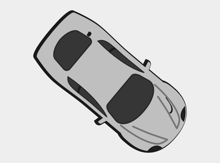 top view of car clipart, Cartoons - Top View Car Png Vector