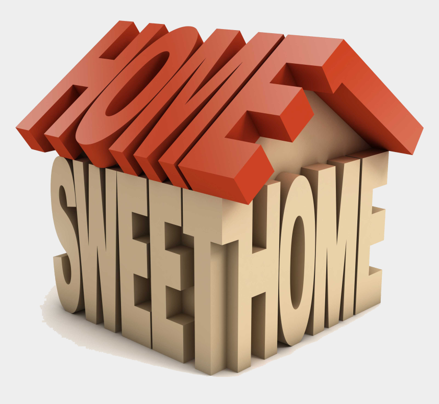 possessions clipart, Cartoons - You Know The Importance Of Protecting Your Home And - Home Sweet Home 3d Logo