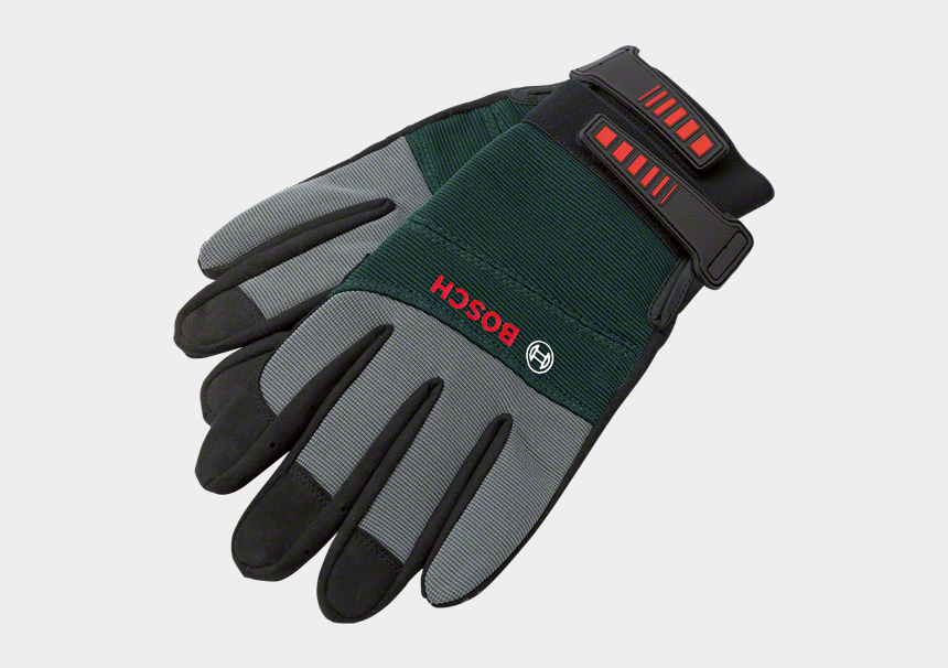 garden gloves clipart, Cartoons - Gloves With Tools Png - Bosch Gardening Gloves