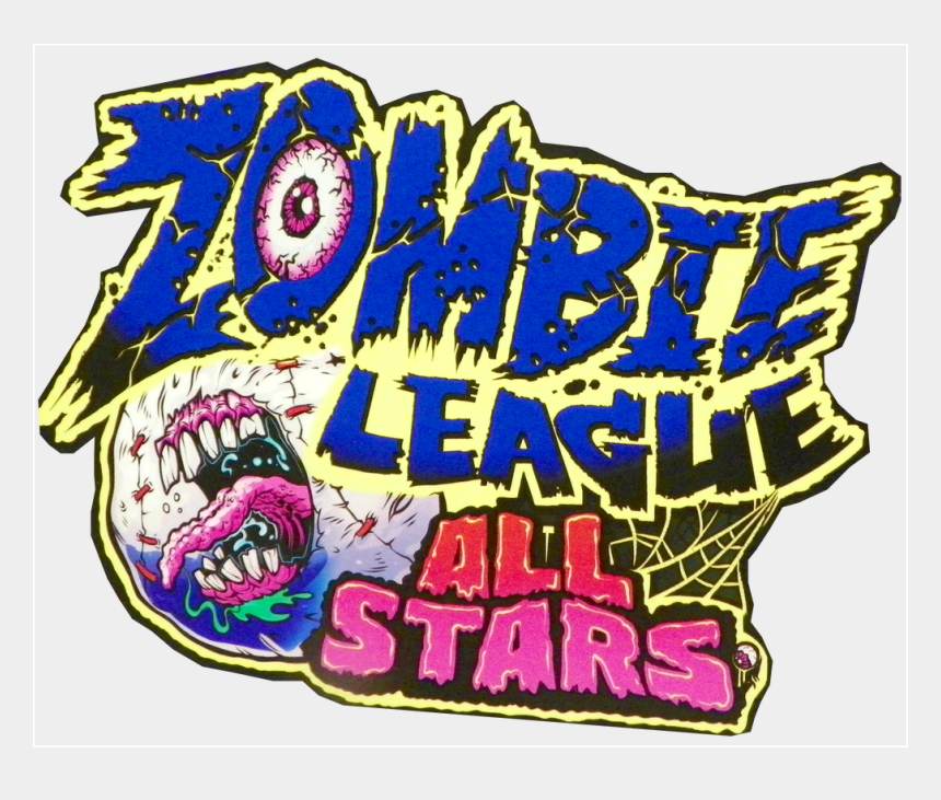 all star baseball clipart, Cartoons - All Star Baseball And Zombie All Stars