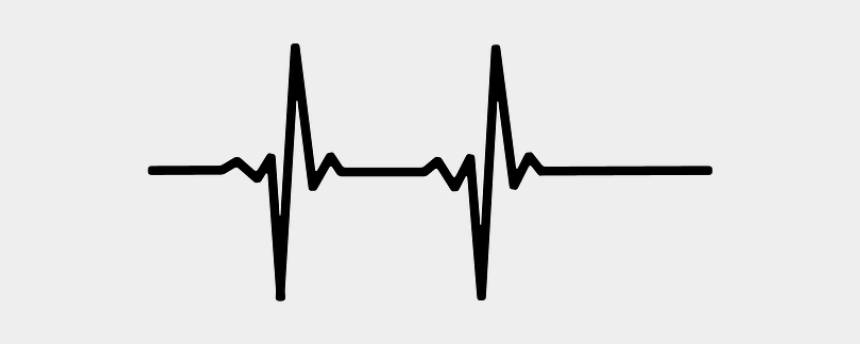line plot clipart, Cartoons - Line Clipart Heartbeat - Heart Rate Line