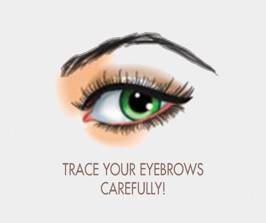 raised eyebrow clipart, Cartoons - Eye Brows Png - Beauty Parlour Eyebrow Shape